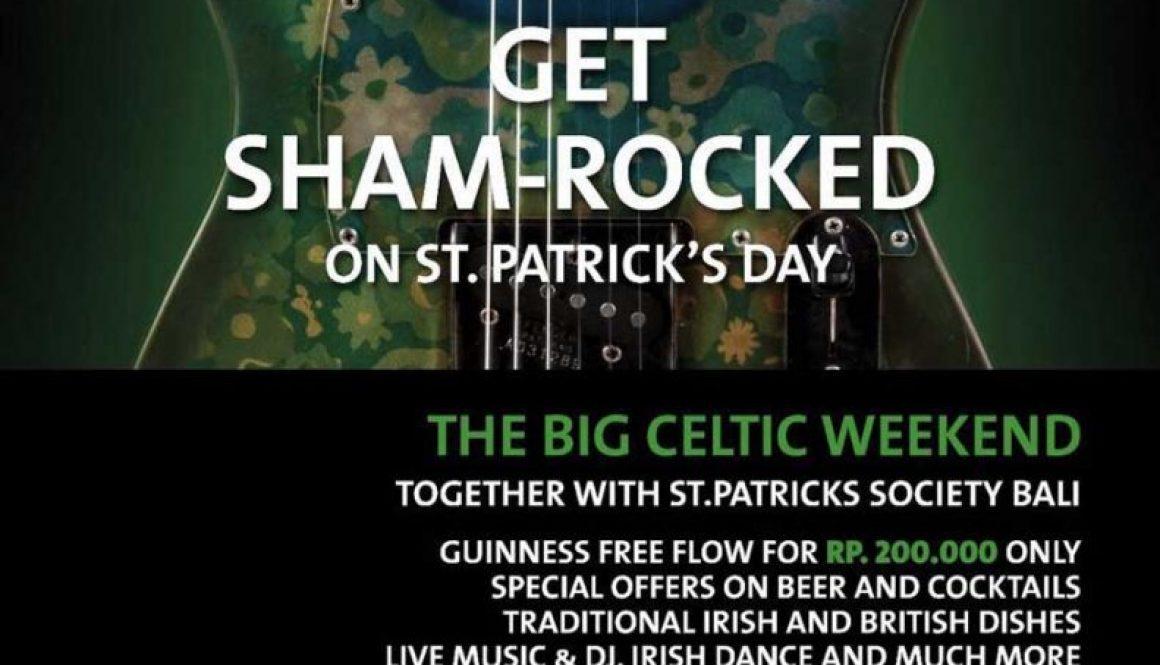 Get Sham-rocked on St. Patrick's Day