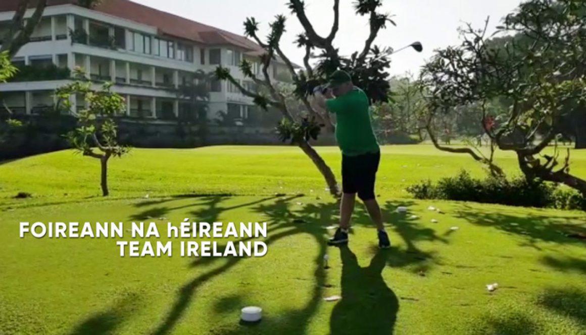 Golf as Gaeilge - Pop-up Gaeltacht